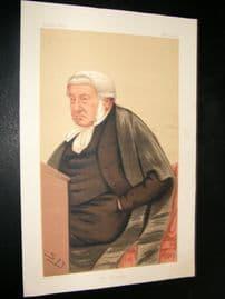 Vanity Fair Print 1876 Sir George Bramwell