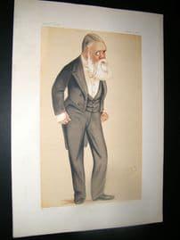 Vanity Fair Print 1876 Tom Taylor, Newspaperman