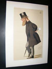 Vanity Fair Print 1876 Viscount Midleton, Spy Cartoon
