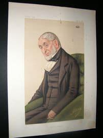 Vanity Fair Print 1877 Baron Lionel de Rothschild