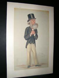 Vanity Fair Print 1877 Bromley Davenport