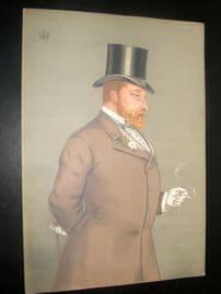 Vanity Fair Print 1877 Edward VII. Royal