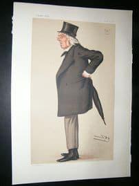 Vanity Fair Print: 1877 Francis Hastings Charles Doyle