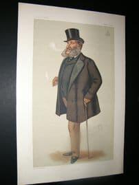Vanity Fair Print 1877 Lord Dorchester, Turf