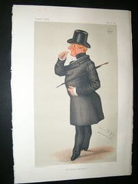 Vanity Fair Print: 1877 Marquis of Winchester