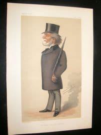 Vanity Fair Print 1877 Theodore Martin, Literary