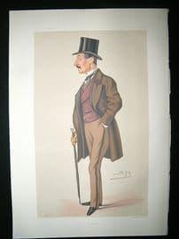 Vanity Fair Print: 1878 Charles Hastings Doyle. Literary