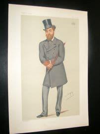 Vanity Fair Print 1878 Earl of Dunmore, Spy Cartoon