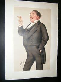 Vanity Fair Print: 1878 Edmund Hodgson Yates