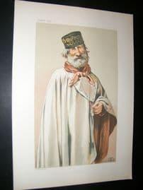 Vanity Fair Print 1878 Gen. Giuseppe Garibaldi, Italy