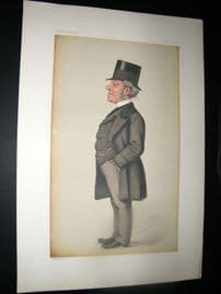 Vanity Fair Print 1878 Hardine Stanley Giffard