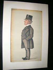 Vanity Fair Print: 1878 Hardinge Stanley Giffard