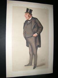 Vanity Fair Print 1878 John Holker, Legal