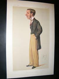 Vanity Fair Print 1878 John Morley, Newspaperman.