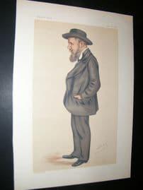 Vanity Fair Print 1878 Joseph Cowen, Spy Cartoon
