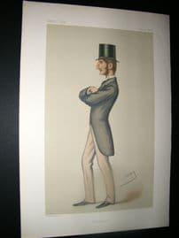Vanity Fair Print 1878 Lord C. J. Hamilton