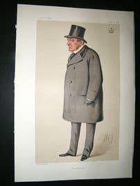 Vanity Fair Print: 1878 Lord Lyons, Ape Lithograph