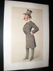 Vanity Fair Print 1878 Owen Lewis Cope Williams, Military
