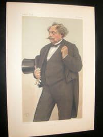 Vanity Fair Print 1879 Alexandre Dumas Fils, Literary