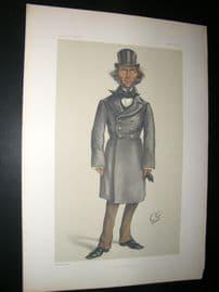Vanity Fair Print 1879 Herbert Spencer, Cartoon