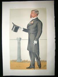 Vanity Fair Print: 1879 Maj. Gen. Craufurd Fraser