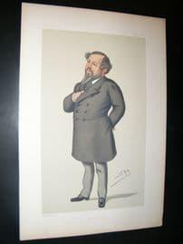 Vanity Fair Print 1879 Mitchell Henry, Caricature