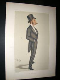 Vanity Fair Print 1879 Mr Justice Straight
