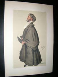Vanity Fair Print 1879  Rev. Francis Edmund Cecil Byng, Clergy