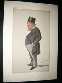 Vanity Fair Print: 1879 Thomas Chenerey, Newspaperman