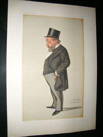 Vanity Fair Print: 1879 Thomas Chenerey.