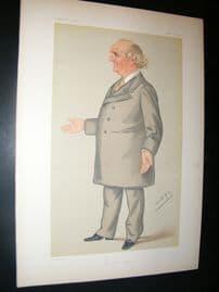 Vanity Fair Print 1879 William Cunliffe Brooks