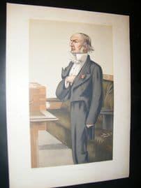 Vanity Fair Print 1879 William Gladstone, Prime Minister
