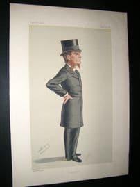 Vanity Fair Print 1880 E. G. Clark, Legal