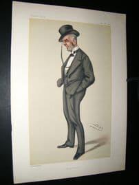 Vanity Fair Print 1880 Henry Calcraft, Railways