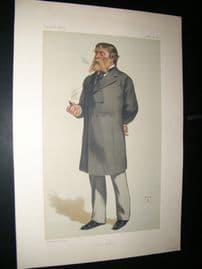 Vanity Fair Print 1880 James Rusell Lowell, American Literary