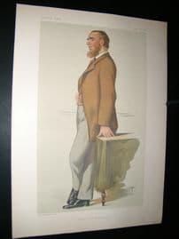 Vanity Fair Print 1880 Leonard Henry Courtney