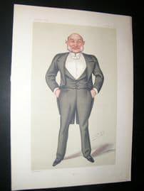 Vanity Fair Print 1880 Vice-Admiral Reginald John Macdonald