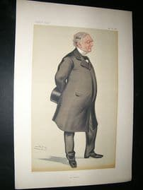 Vanity Fair Print: 1880 William James Erasmus Wilson