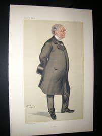 Vanity Fair Print 1880 William James Erasmus Wilson, Architect