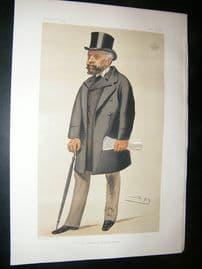 Vanity Fair Print: 1881 Earl Nelson, Clergy