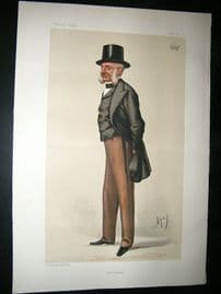 Vanity Fair Print: 1881 Earl of Lucan, Crimea