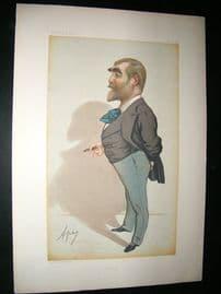 Vanity Fair Print: 1881 Francis Burnand, Newspaperman