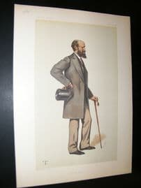 Vanity Fair Print 1881 Lord Henry John Montagu-Douglass-Scott