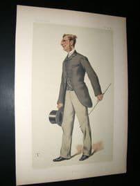 Vanity Fair Print 1881  Vice-Admiral Sir Edmund Commerell