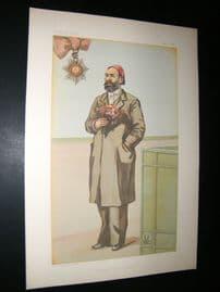 Vanity Fair Print 1882 Ahmed Arabi The Egyptian, Royal