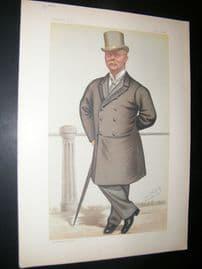 Vanity Fair Print 1882 Col. John J. Macdonnell