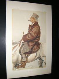 Vanity Fair Print 1882 Frederick Barne Sports Rider
