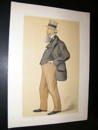Vanity Fair Print 1882 George Armitstead