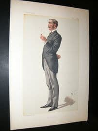 Vanity Fair Print 1882 George Errington