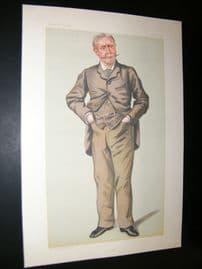 Vanity Fair Print 1882 Henry Montague Hozier, Military
